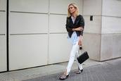 adenorah,blogger,jacket,bag,shoes