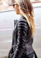 jacket,jeans,black,leather jacket,leather bag,fashion,fall outfits,love more,beautiful