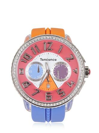 watch pink orange jewels