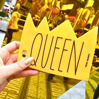 phone cover yeah bunny queencrown queen crown iphone case iphone6 iphone7