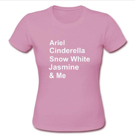 disney princess pink T Shirt