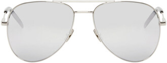 classic sunglasses aviator sunglasses silver