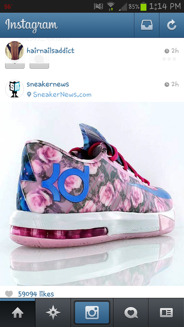 shoes kevindurant kds aunt pearls flowers kevin durant kds 6 nike