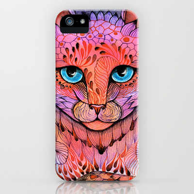 SUNSET CAT iPhone & iPod Case by Ola Liola | Society6