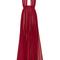 Silk georgette halter long dress by elie saab | moda operandi