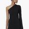 Premium - asymmetric neckline dress - women | mango