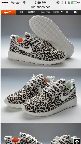 shoes leopard print nike roshe runs nike running shoes