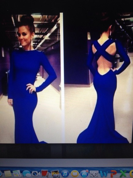 backless dress blue dress fashion blue prom dresses blue royal blue dress