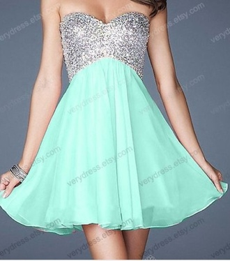 dress floral dress prom dress blue dress sparkles blue sequin dress