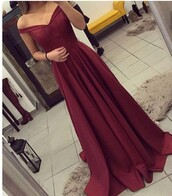 dress,burgundy,burgundy dress,prom dress,long prom dress,red prom dress,long dress,red dress,prom,dark red,long red dress,ball gown dress,ball gowns,gown,formal dress,off the shoulder,red,off shoulder dresses\,red off shoulder,beautiful,bardot,maxi dress,off the shoulder dress,flowy dress,formal gown,marroon,floor length formal gown,silk dress,side slit,wine red,formals,wine colored dress