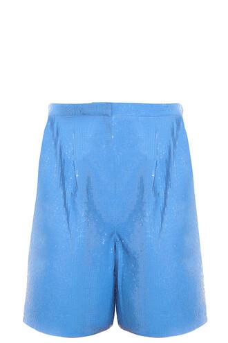 culottes blue pants