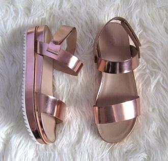 shoes sandals high waisted holographic flatforms flatform sandals bracelets