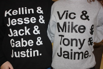 sweater band music pierce the veil sleeping with sirens sweatshirt perfection vic fuentes kellin quinn band t-shirt names