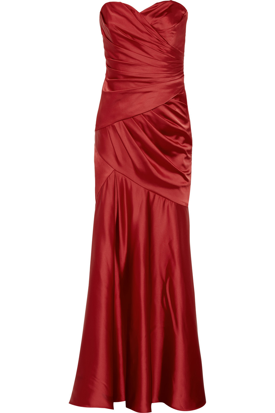 Notte by Marchesa Satin gown - 60% Off Now at THE OUTNET