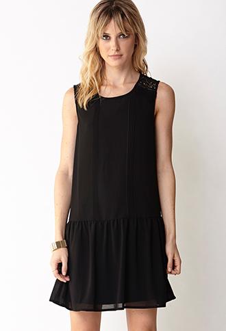 Sweet Lace Drop Waist Dress | FOREVER21 - 2000091762