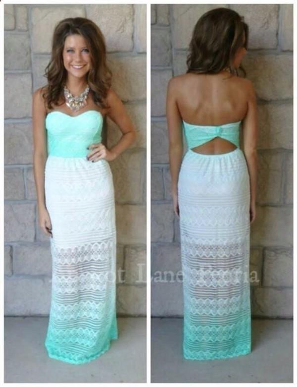 Ombre lace dress singapore