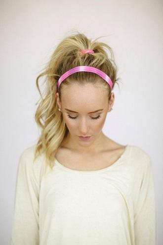 hair accessory pink tie dye headband hair accessories