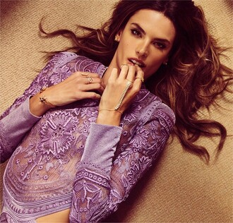 blouse alessandra ambrosio bauble bar