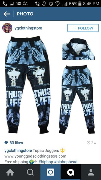 pants thug life