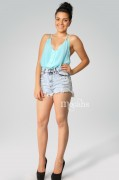 """""""White Sand"""" Denim Shorts » MOCAHS"""