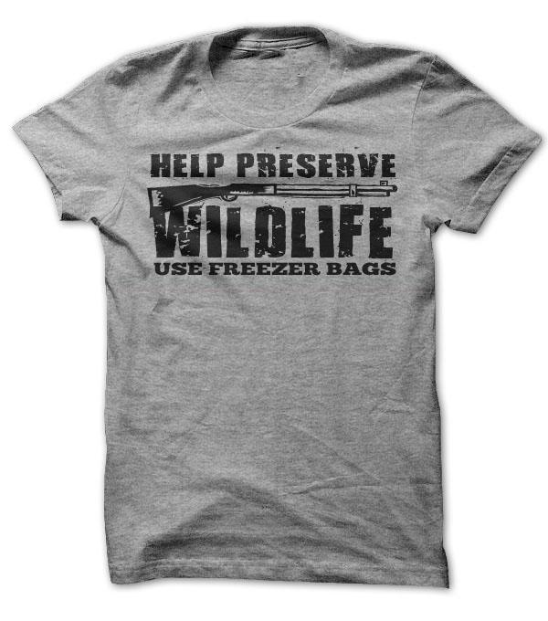 Preserve Wildlife T-Shirt & Hoodie