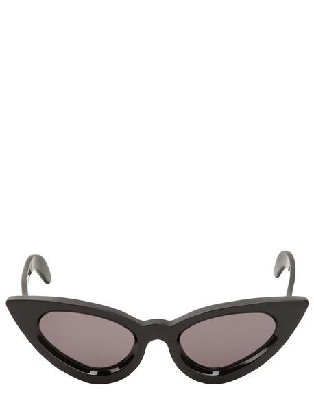 shiny sunglasses black