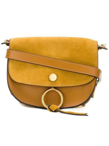 Chloe women bag shoulder bag yellow orange