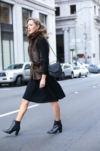 the classy cubicle blogger dress jacket shoes bag jewels belt