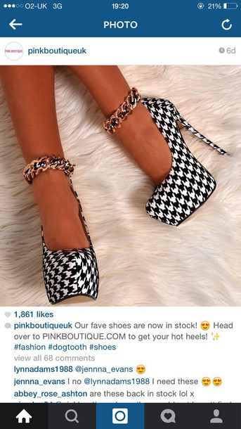 shoes dogtooth shoes dogtooth