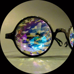 Prizm space — kaleidoscope glasses by future eyes