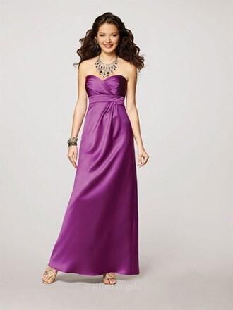 dress alfred angelo bridesmaid evening dress