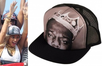 beyoncé hat hat biggie trucker hat