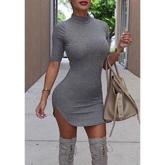 dress bodycon dress streetwear rose wholesale