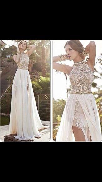 beads pearl prom prom dress classy elegant