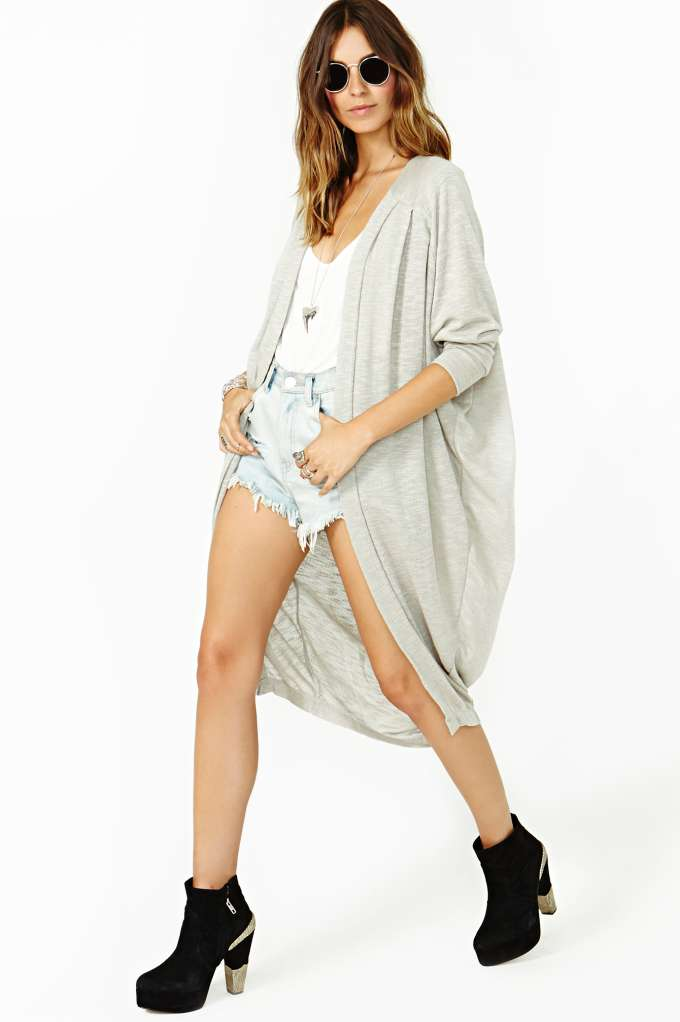 Ladakh Cloud Land Cardi in  Clothes Sweaters at Nasty Gal