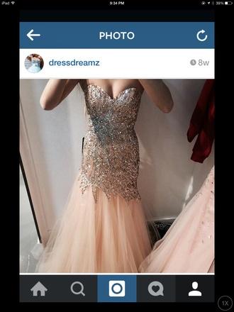 dress prom dress sparkly dress rhinestone