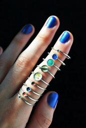 jewels,ring,planets,science,solar system,galaxy print,tumblr,tumblr girl,accessories,rings and tings,pale grunge,pastel goth,pastel grunge,knuckle ring,hair accessory,planet ring,midi rings hand jewelry,colorful,swag,cool,solar system rings,hand,nails,set,pretty,wiccan,pagan,ring set,astronomy,stars,space,earth,moon,rings and jewelry,jewelry rings,boho jewelry,boho ring,thin rings,home accessory,teenagers,finger rings,planetary,hipster,rings silver