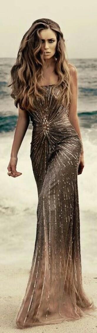 dress sequin dress flowy dress