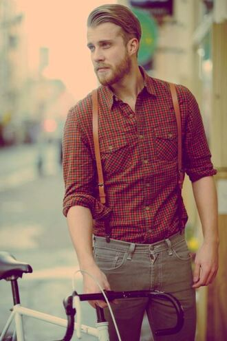 shirt lumber jack shirt menswear checked shirt hipster menswear flannel shirt