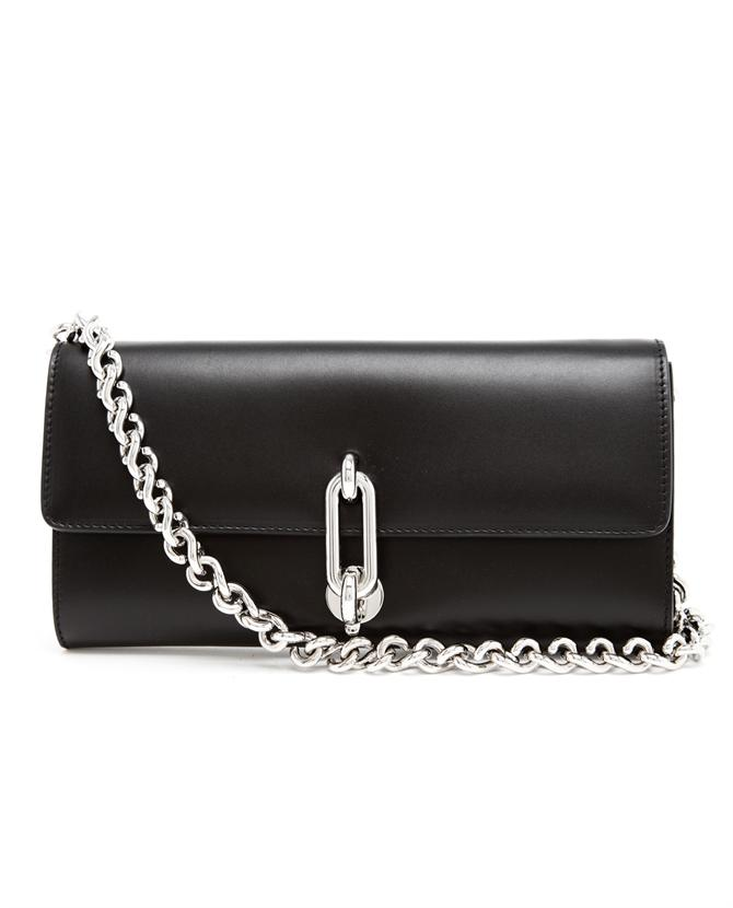 BALENCIAGA | Polished Leather Clutch Bag | Browns fashion & designer clothes & clothing