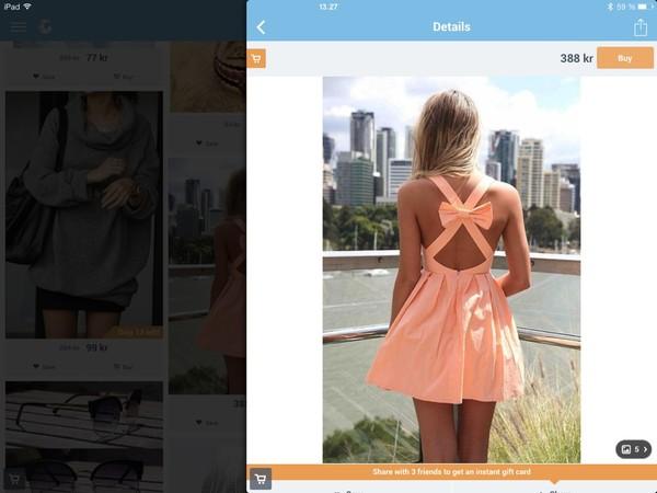 dress orange dress orange bow Bow Back Dress backless dress
