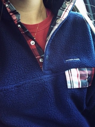 jacket pullover pullover patterened