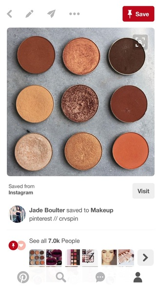 make-up eye shadow eye makeup eye shadow palette brown neutral neutral eyeshadow palette orange tan makeup palette