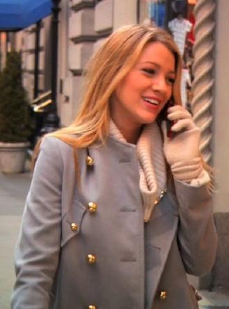 coat gossip girl
