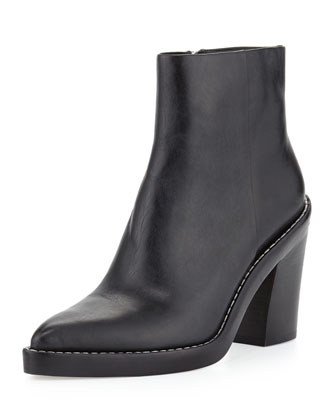 Alexander Wang Kelly Pointed-Toe Ankle Boot