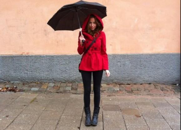 jacket black black jacket style red awesome style lovely