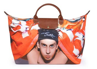 orange bag white bag brown bag black bag blue bag