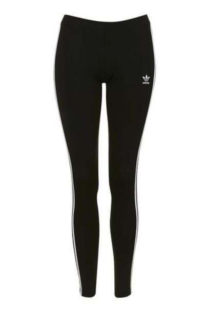 Topshop leggings adidas originals black pants