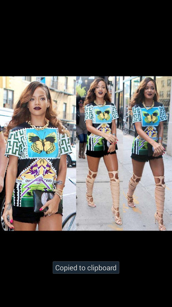 shirt full corset top beautiful dope rihanna