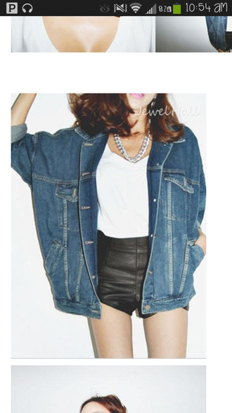 jacket denim jacket cute korean fashion